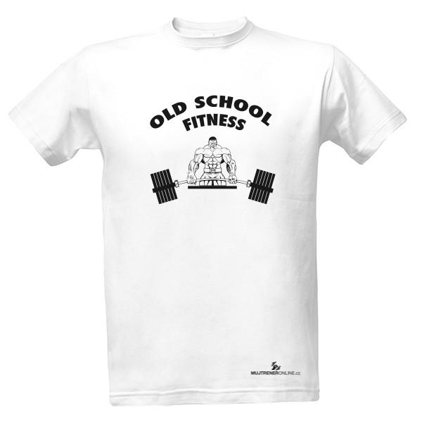 f03eaa392f5 Tričko s potiskem Old School Fitness - pánské